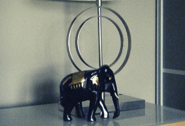 sculpture d'éléphant